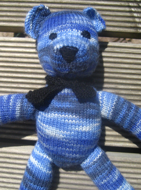 Weldons Teddy Bear Free Knitting Pattern - Buttons and Beeswax
