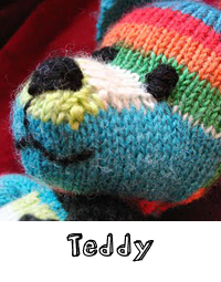 teddy free knitting pattern