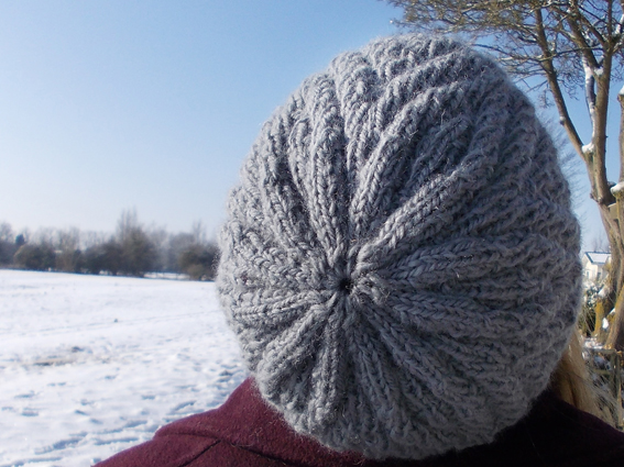 ZigZag Hat - A knitting pattern from Buttons and Beeswax