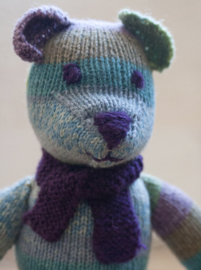 Weldons Teddy Bear Free Vintage Knitting Pattern - Buttons and Beeswax